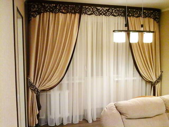 обтачка шторы