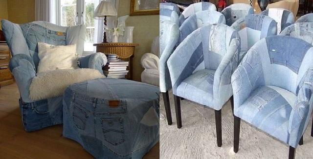 что можно сделать из джинсов своими руками