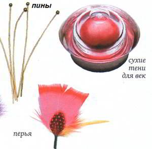 материалы для изготовления цветов из ткани