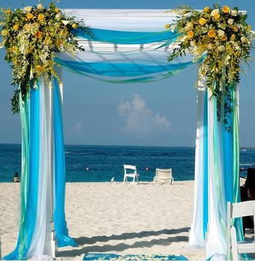 Свадебный арка своими руками