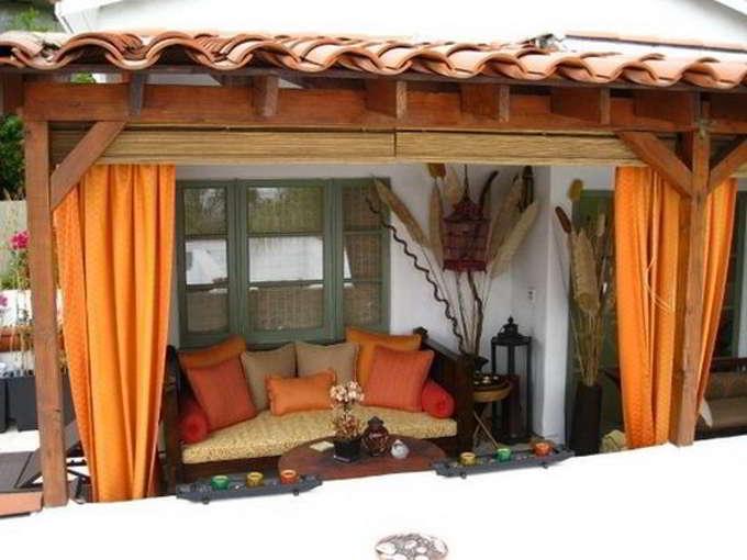 шторы для дачи фото