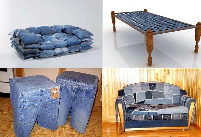 что можно сделать из джинсов своими руками -1