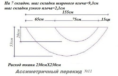 схема размеров ассим пер 11