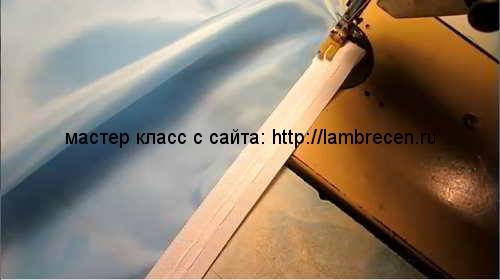 ламбрекен буфы видео