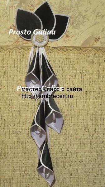 украшения для штор и лабрекенов гирлянда Колокольчики