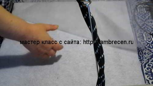 ажурный ламбрекен своими руками