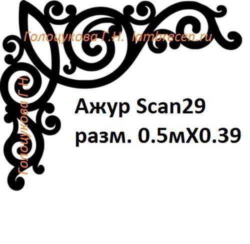 Ажур Scan29 разм. 0.5мХ0.39