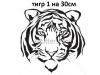 9. тигр 1 на 30см