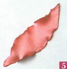 Изготовление цветов из ткани методом обжига
