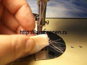 Урок 1:Как пришить косую бейку к детали.
