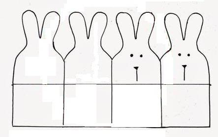 Show пасхальная корзинка с зайцами своими руками мк