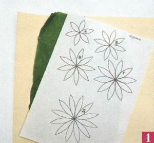 шаблоны для цветов из ткани