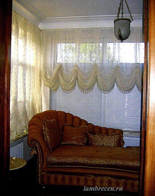 австрийские шторы,шторы для спальни