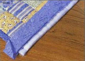 как сшить лоскутное покрывало