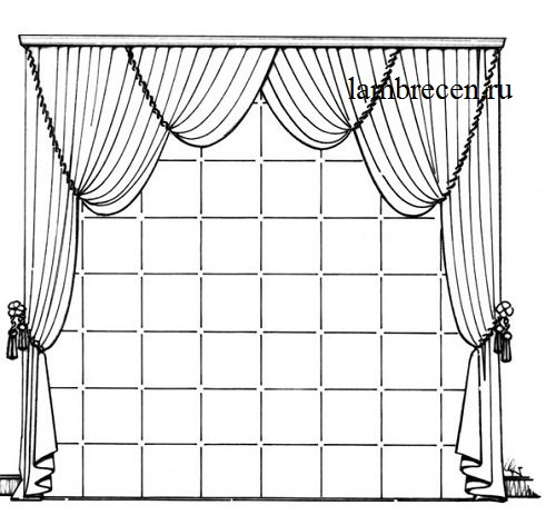 императорская штора