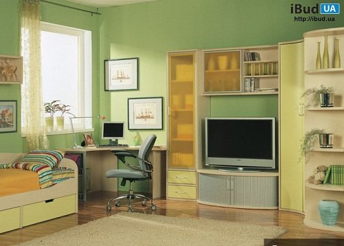 Фото дизайна детской комнаты.
