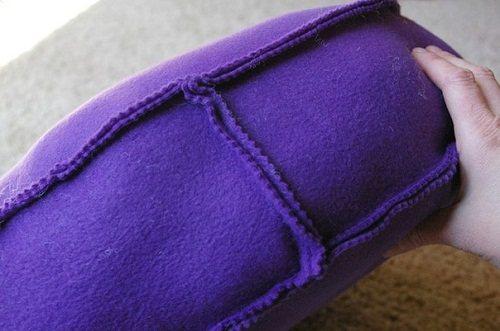 Подушки-пуфики.Идеи для декора.