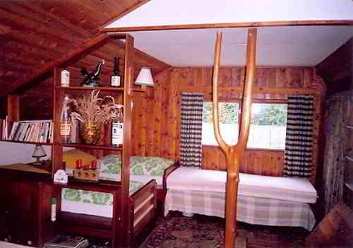 интерьер дачного домика