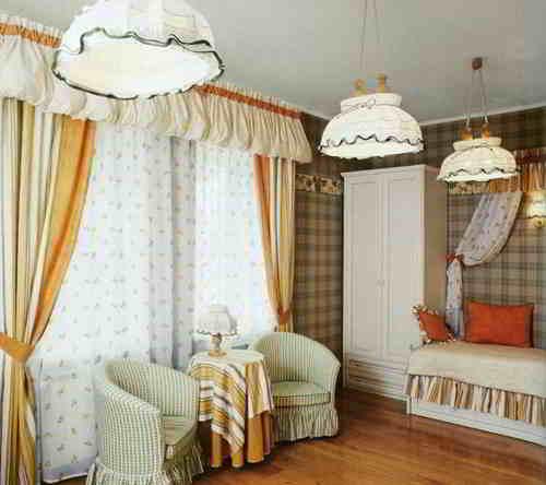 Интерьер дачного домика фото.