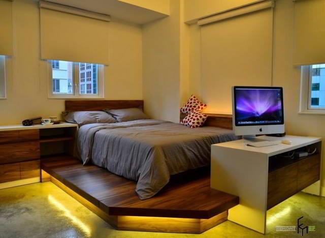 Как обустроить маленькую спальню: 55 ИДЕЙ