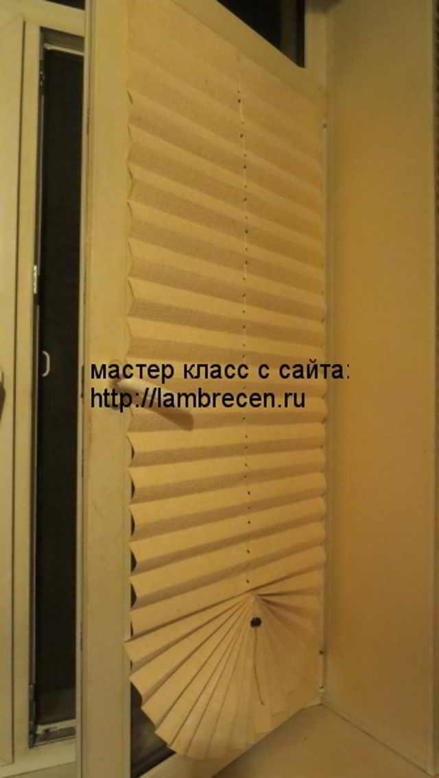 Как изготовить самодельные жалюзи на окна.