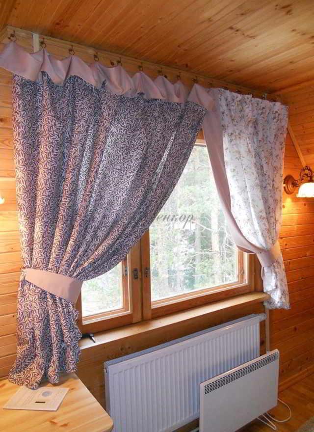 Выбор штор для дачи
