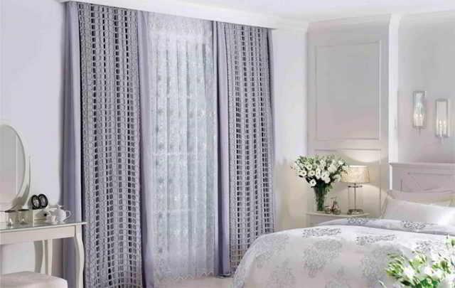 Гармонично подобранный текстиль для штор