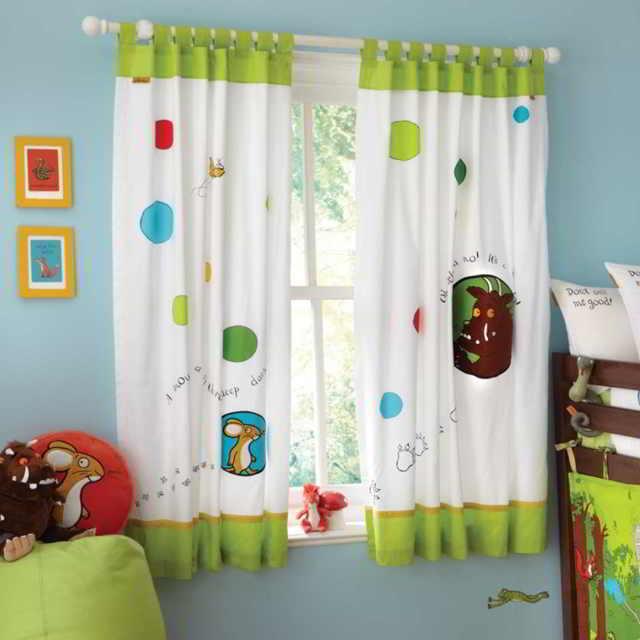 Какие шторы выбрать для детской?